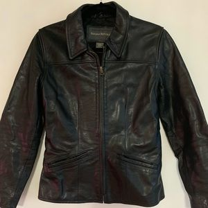 Banana Republic Leather Coat